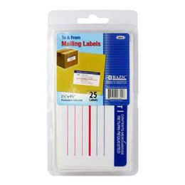 144 of Bazic Mailing Label (25/pack)