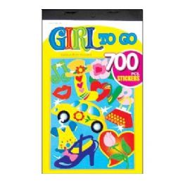 60 of Girl Series Assorted Sticker (700/pack)