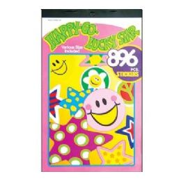 60 of Happy Star Series Assorted Sticker (896/pack)