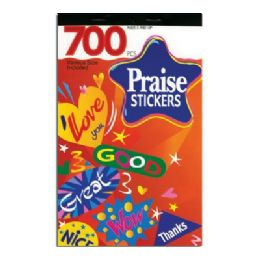 72 of Praise Series Assorted Sticker (700/pack)