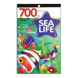 60 of Sea Life Series Assorted Sticker (700/pack)