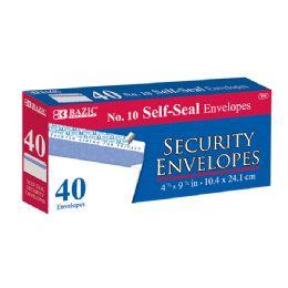 48 of Bazic #10 Peel & Seal Security Envelope (40/pack)