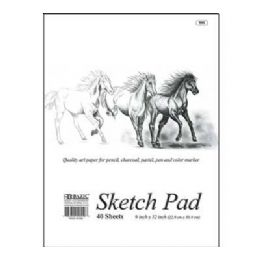 "48 of Bazic 40 Ct. 9"" X 12"" Sketch Pad"