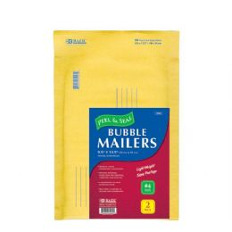 """72 of Bazic 9.5"""" X 13.5"""" (#4) Self Sealing Bubble Mailers (2/pack)"""