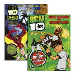 48 of Ben 10 Giant Coloring & Activity Book