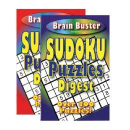48 of Brain Teasing Sudoku Puzzle Book Digest Size