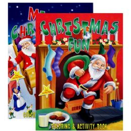 72 of Christmas Coloring & Activity Book