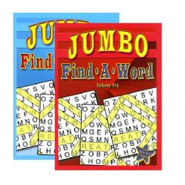 48 of Jumbo FinD-A-Word Puzzles Book