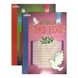 96 of Kappa Bible Series Word Finds Puzzle Book