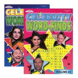 48 of Kappa Celebrity Word Finds Puzzle Book