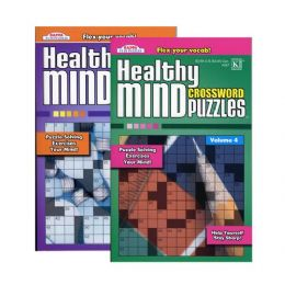 48 of Kappa Healthy Minds Crosswords Puzzle Book - Digest Size