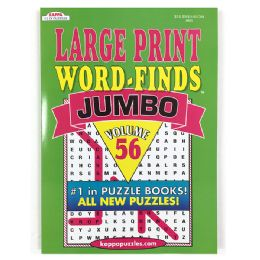 48 of Kappa Jumbo Large Print Word Finds Puzzle Book