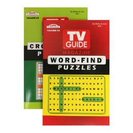 72 of Kappa Tv Guide Word Finds & Crossword Puzzles Book - Digest Size