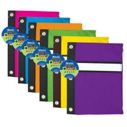 144 of Bazic Bright Color 3-Ring Pencil Pouch