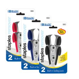 144 of Bazic Claw Style Staples Remover W/ Safety Lock (2/pack)