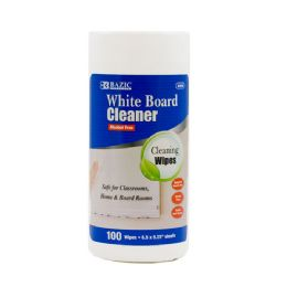 48 of Bazic 100 Ct. White Board Surface Wipes