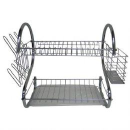 10 of Stainless Steel Dish Rack