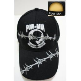 24 of Pow/mia Hat [barbed Wire]