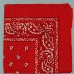 48 of BandanA-Red Paisley