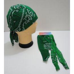 144 of Skull CaP-Green Paisley