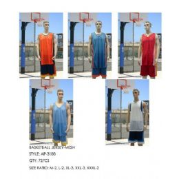 72 of Basketball Jersey Dazzle Top
