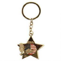 12 of Keychain Usa Eagle Star