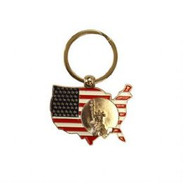 12 of Keychain Usa Liberty Map