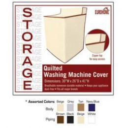 36 of Quilted Washing Machine Cover 4 Assorted Colors