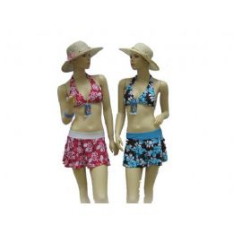 72 of 3pcs Swimsuit Set Bathing Suit