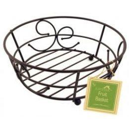 12 of Bronze Fruit Basket