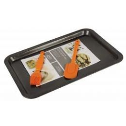 12 of Rectangular Pan With 2 Piece Silicone Tools