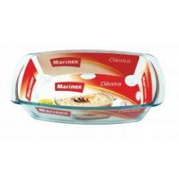 12 of Marinex 1.5l /1.6 Qt. Rectangular Glass Loaf Dish