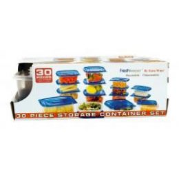 12 of 30 Pc. Fresh Keeper Plastic Storage Containers