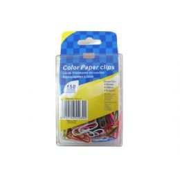 72 of Colored Paper Clips, Pack Of 150