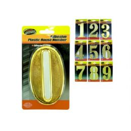 90 of Plastic House Numbers With Adhesive Back