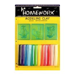 48 of Modeling Clay And Molds Set 12 Assorted Clay Sticks
