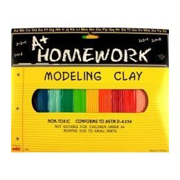 48 of Multi Color Modeling Clay 12 Pack