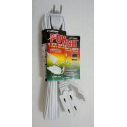 100 of 9' White Extension Cord