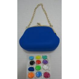 72 of Silicone Change Purse With Chain