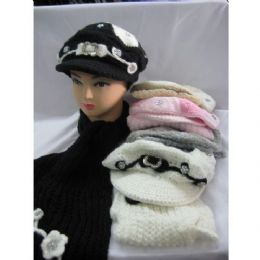 48 of Fashion Winter Hat With Matching Scarf For Ladies