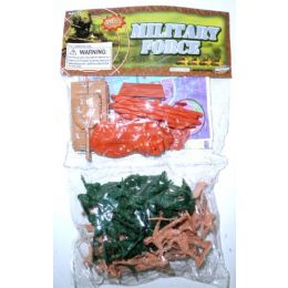 72 of Plastic Army Soldiers And Tank