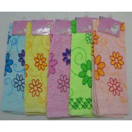 72 of Printed Hand ToweL-Floral
