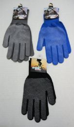60 of Sports Gloves With Gripper PalM--Assorted Colors