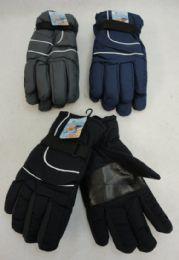 36 of Men's Dark Colors Snow Gloves