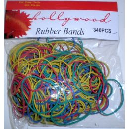 72 of 340 Pack Assorted Rubber Bands