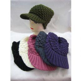 60 of Ladies Croche Like Acryic Winter Hat