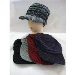 60 of Ladies Croche Like Winter Hat