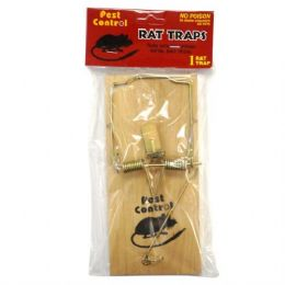 48 of Pest Control Wooden Rat Trap 1pk