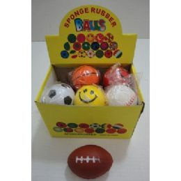 "72 of 2.75"" Squish BalL-Assorted Sports"