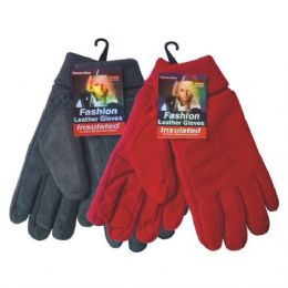 72 of Winter Fleece Glove Women hd